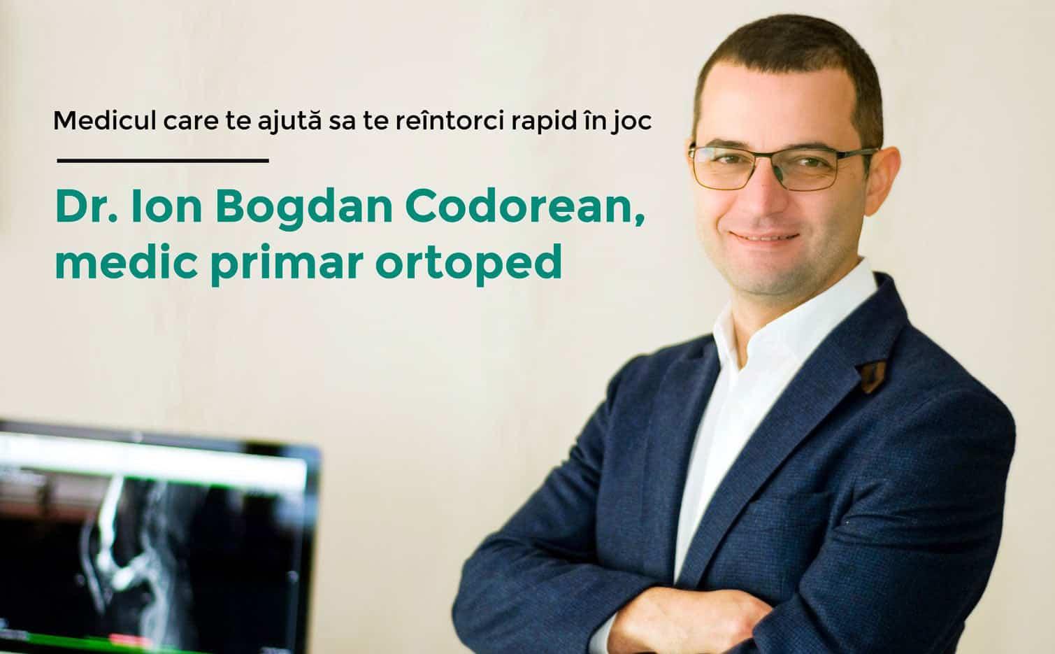 Dr. Ion Bogdan Codorean - Medic primar ortoped